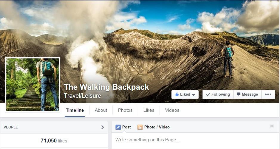 The Walking Backpack - Google Chrome